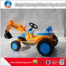la fábrica de china fabricante de juguetes los niños paseo en el coche de juguete modelo de excavadora para los niños
