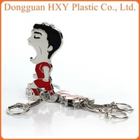 cheap bulk bottle opener keychain for promotional and business gifts/4.6*7.5cm/$0.13 WITH YOUR LOGO