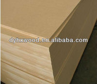 Standard Size MDF Board, melamine coated mdf board with edge banding