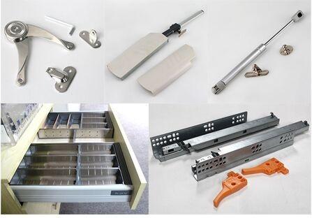 Stable qualité 3D réglable charnière de fermeture en douceur cabinet charnière