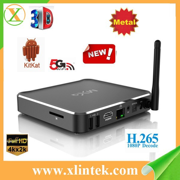 2015 new arrival amlogic s812 M10 pre installed xbmc