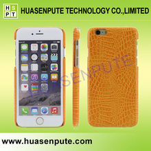 Genuine Real Leather Crocodile Leather Phone Case For iphone 6