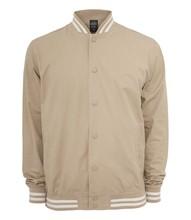 Urban Classics Summer Cotton College Jacket - Size: M - Color: beige