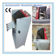 1) 3seconds each book high speed ,Automatic Booklet maker, Auto booklet folding and binding machine