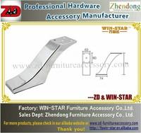 hot sale new desgin high quality furniture metal sofa foot ZD-C001-B