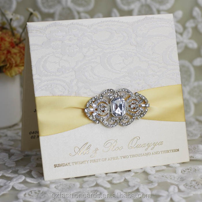 2015 Latest Elegant Cheap Indian Muslim Wedding Invitations - Buy ...