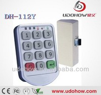 Low battery alarm digital keypad cabinet lock