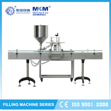 Stand type olive oil filling machine with 2 nozzles G2T1 DF