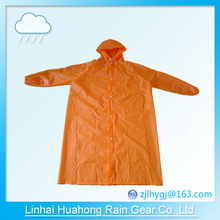 PEVA before open long gown raincoat