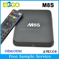M8S Amlogic s812 android tv box xbmc kodi Quad Core google android 4.4 tv box