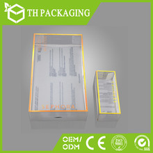 Transparent plastic pvc packing box for gift, cellphone, playing cards, cosmetics etc