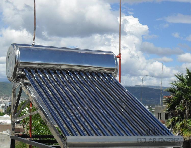 Compact chauffe - eau solaire