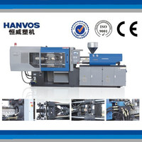 NINGBO HANVOS HW258T plastic automatic injection molding machine with servo motor energy-saving