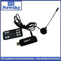 Portable isdb-t usb digital tv converter box for laptops with usb interface