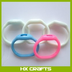 HX Silicone anti mosquito bracelet/promotional anti mosquito bracelet/mosquito repellent bracelet