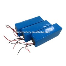 Power tools Lithium polymer prismatic rechargeable battery packs 36V 10Ah lipolymer battery packs
