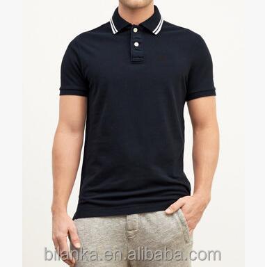 Rubber Printing 100 Cotton Polo Shirt Wholesale Custom