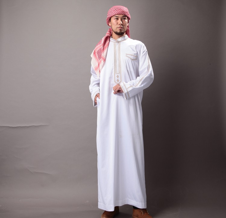 fashion muslim coat for men in hot selling mosque clothes