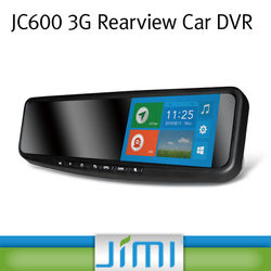 Jimi Jc600 Mid-East/Africa/Europe Best Selling Tracking Device Lcd Display Buy Car Rearview Mirror Camera Dvr