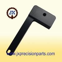 Motor vehicle brake spring rod high quality aluminum alloy black hard anodic CNC processing custom parts