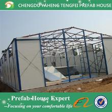Earthquake proof steel prefab house