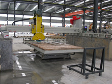 Laser bridge cutting machine with 350-600mm saw blade, wanlong brand