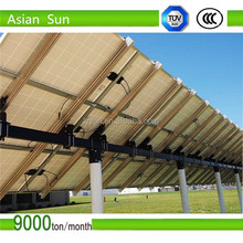Metal Ground solar pv mounting supports