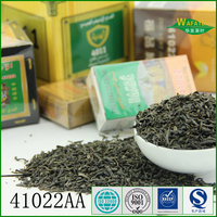 china wholesale full containers low price 5kg wooden case chunmee green tea 4011 fo morocco