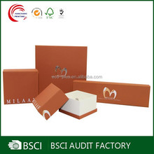Fancy high quality cardboard box for jewelry wholesale in shanghai