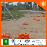 Trade Assurance Alibaba China Hot dipped Galvanized Removable Temporary Fence