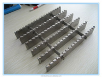Serrated Customized Aluminum/304 Stainless Steel Grating Panels