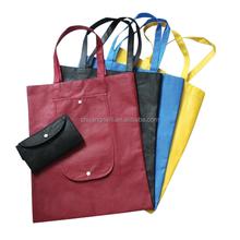 promotional Non woven wallet reusable folding shopping bag