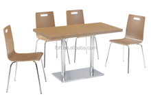 Food court fast food furniture fast food restaurant furniture (FOH-BC22)