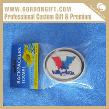Fashionable AD gift 2015 Simple Popular CT-046 custom super compressed towels magic towel