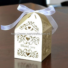 "fashion design wedding gift boxes from Mery Crafts! laser cut ""love vines"" excellent wedding supplies"