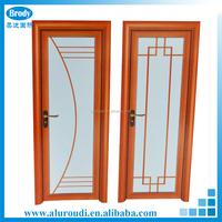 China Popular Aluminum House Bathroom Glass Door