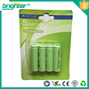 powered nimh aa battery voltage with rechargeable batetry NIMH AA