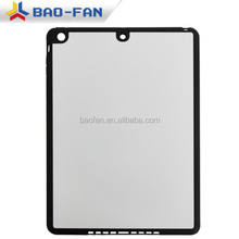 promotional 2D sublimation sheet TPU case for cell phone with metal sheet for Ipad5