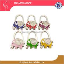 Thailand Style Animal Theme Foldable Purse Hanger Holder Hook Bag Hanger Hook Holder for Table Thanksgiving Gift Present