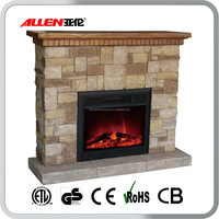 Simulated Log Set Electric Fireplace No Heat with Cheap Price
