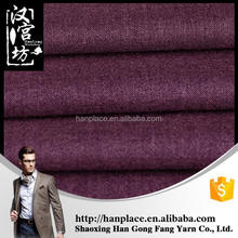 China Supplier Latest design Elegant 65% polyester and 35% viscose fabric for mens suits