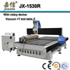 JX-1530R Vacuum table Rotary engraver cnc routers