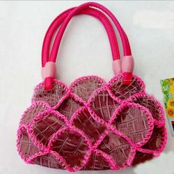 Manufacture selling design retostyle woman handbags national manual designs fashion bag handbag leather lady bag