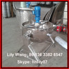 steam jacketed kettle with agitator/cooking kettle with stirrer/steam jacket brew kettle (Skype: hnlily07)