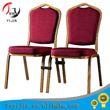 2014 new designs high quality iron banquet chair made in China