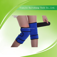 Elastic breathable medical knee support