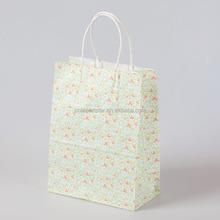 Fashion craft paper shopping bag