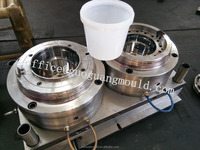 cheese pp bucket mould ,plastic round container mould,plastic paint bucket mould