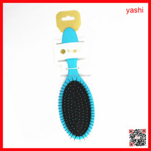 YASHI best sale korea human make up the wet detangling plastic hair brush