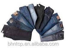 Bhnj820 para hombre y para mujer de los <span class=keywords><strong>pantalones</strong></span> <span class=keywords><strong>vaqueros</strong></span> baratos de la porción disponible venta mucha ropa nueva